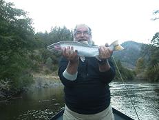 2 day flyfishing trip Steelhead trinity river