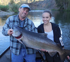 sacramento guided fishing trips