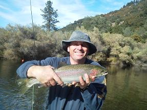 Andy M Steelhead on Trinity River October 28