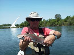 Chris Sac River Salmon Fly Fishing Sun Dial Bridge