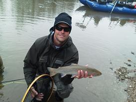 Flyfishing Forrest Steelhead