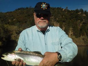 Flyfishing Trinity River Salmon Steelhead Larry trip