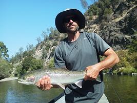 Flyfishing Trinity River Steelehead Forrest