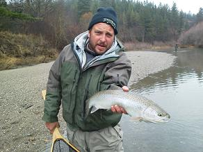 Greg Flyfishing Steelhead1