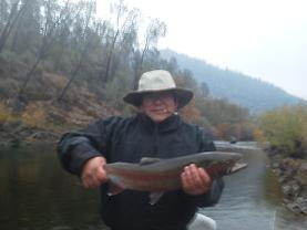 Hammon Flyfishing Trip Trinity River California Steelhead 2012
