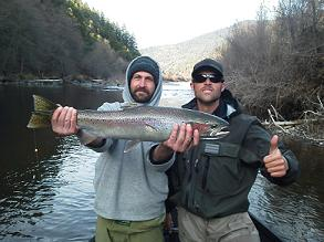 Hecky_Guide_Trip_Trinity_River_Forrest_and_Jason