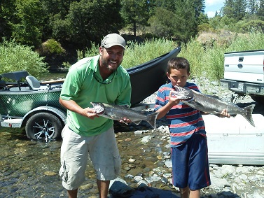Hookem_Hecky_and_son_Trinity_River_Salmon_August_2014