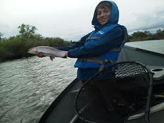 Logan Sacramento River Fly fishing Sundial Bridge