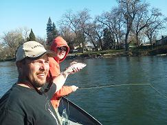 Matt_and_Jim_fly_fishing_Sacramento_River_Trout