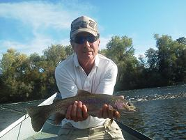 Roger Fly Fishing Sacramento River Fly fishing Sundial Brige Float