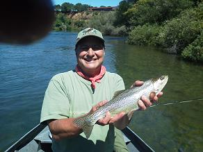 Roy W Trout Fly Fishing Sacramento river Northern California