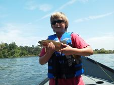 Sacramento River 2012 Fly Fishing Eli trout Aug