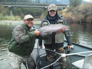 Thanksgiving Flyfishing Trinity River Weaverville CA Steelhead