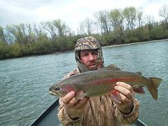 Tonys Trout Sac River Fly Fishing
