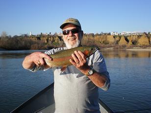 Gary's nice Sacramento River rainbow